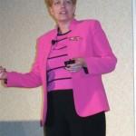 Nancy Weil Speaking on Stage