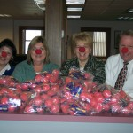 Clown noses headed to our troops overseas